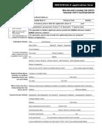 Bon Accord Individual Application Forms