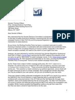 O'Mara Letter 06 May 2013