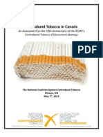 Contraband Tobacco in Canada