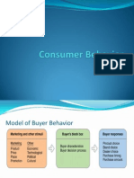 Week 8-Consumer Behaviour