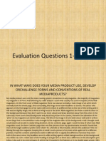 EvaluationQuestions 1-4