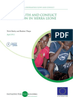 Media Youth Conflict Prevention Salone
