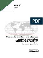 operacion central NFS-320 Operación
