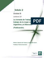 Lectura 10 - La Jornada de Trabajo y El Trabajo de La Mujer en Argentina