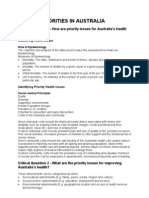 HSC PDHPE Study Notes