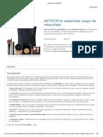 Artistry Juego de Maquillaje
