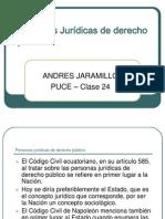 Personas Jurídicas de derecho público