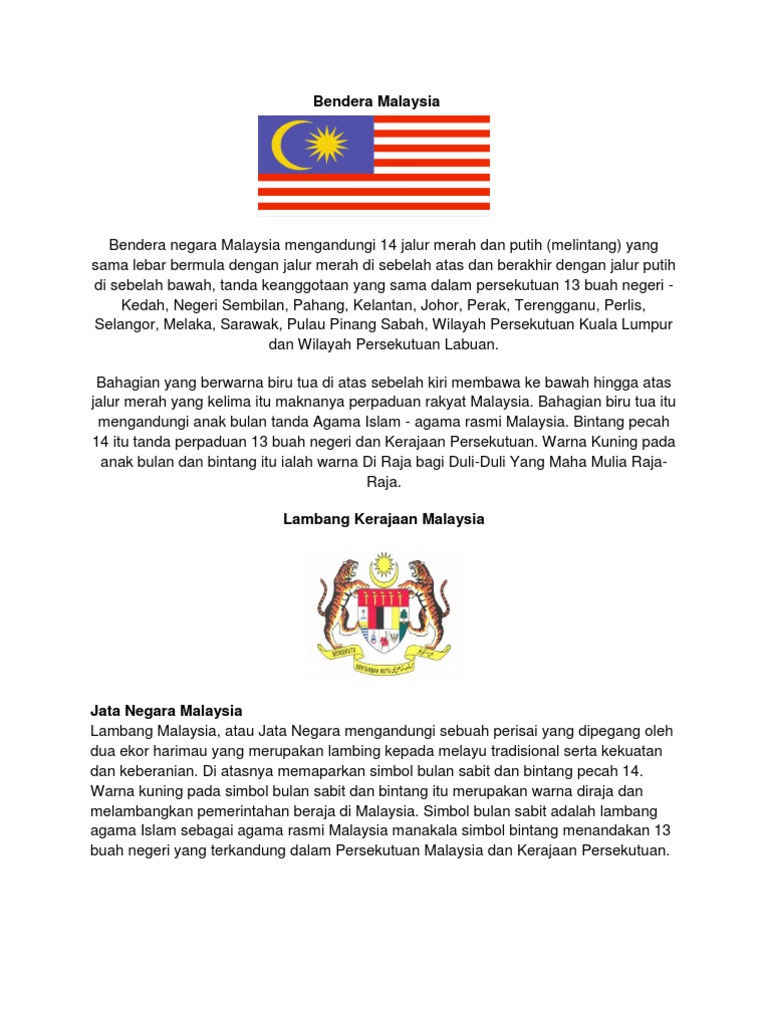 50642458 Bendera Malaysia N Negeri2 Complete