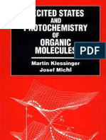 13263225 Excited States and Photochemistry of Organic Molecules Klessinger M Michl J VCH 1995