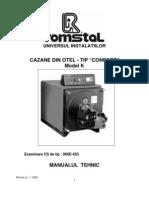 CONFORT K-Manual Tehnic