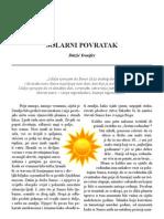 Solarni Povratak - Blazic Djenifer