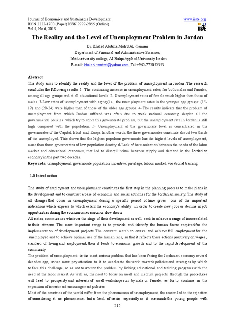 the unemployment as a phenomena in the economic health The great economic recession which started with a global financial crisis in 2007 had severe effects on the spanish labor market (bentolila et al 2017)in particular, the unemployment rate followed a dramatic path, increasing from about 8% in 2007 to more than 25% in 2011.