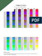 Códigos de Colores - html