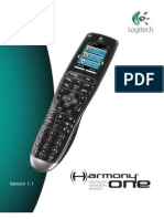 Logitech Harmony One Advanced User Manual
