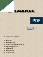 Ip Spoofing