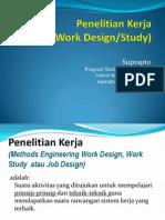 1 Work Design2