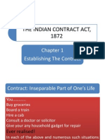 The Indian Contract Act, 1872 & Proposal & Acceptance