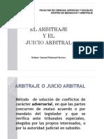 4.- El Arbitraje y El Juicio Arbitral