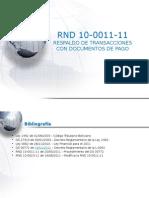 RND 10 0011 11 Bancarizacion