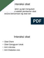 Interaksi Obat - FK-11