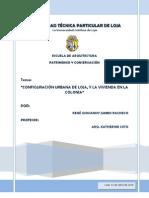 RENÉ JUMBO_ENSAYO_CONFIGURACIÓN URBANA DE LOJA Y LA VIVIENDA EN LA COLONIA.pdf
