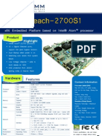 Golden Beach 2700S1 Product Brochure v1 0