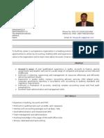 Nibu Resume 2012