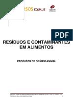 Apostila de Texto - Residuos e Contaminantes