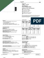 Datasheet Techman OMIT SS 124LM