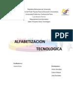 Alfatizacion Tecnologica