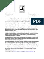 NYPIRG CF Violations 2011-2