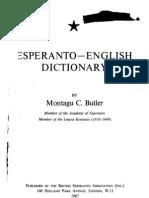 Butler Esperanto English 1967 v1