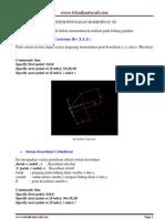 Sistem Penulisan Koordinat 3d