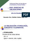 MATERIALES DE ENSEÑANZA DERECHO DE OBLIGACIONES DRA VIGIL CU