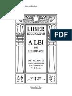 68105869 Aleister Crowley Liber DCCCXXXVII a Lei de Liberdade Versao 1 1