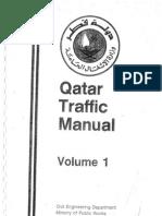 Qatar Traffic Manual Volume-1