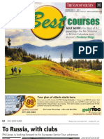 Vancouver Sun Golf Guide 2013
