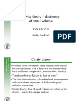 Cavity theory - dosimetry of small volume.pdf