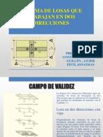 PPT Resumen de Losas en 2 Direcciones Capitulo 18 PCA .Pptx