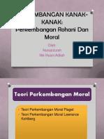 PERKEMBANGAN KANAK-KANAK rohani dan moral.pptx