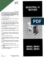 Honeywell ModutrolIVMotor M94 Iom D1190 632195