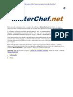 Manual Mister Chef - Usuário