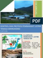 Kontrol Pltmh (pembangkit listrik tenaga mikrohidro)