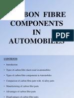 Carbon Fibre Components