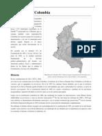 Los Municipios Oreganizacion Territorial Colombia