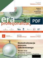 2008-06-16 Nowoczesna Firma Demokratyzacja Przekazu Szkoleniowego