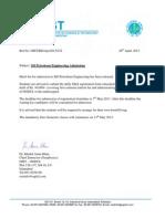 OIST-MS Petroleum Engineering Merit List