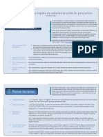 Guía de referencia rápida de administración de proyectos - Project 2007