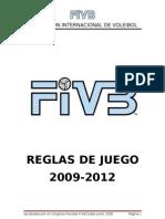 Reglas de Juego VB 2009 - 2012