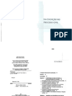 kazuo watanabe - da cognição no processo civil, 3ª ed. (2005)
